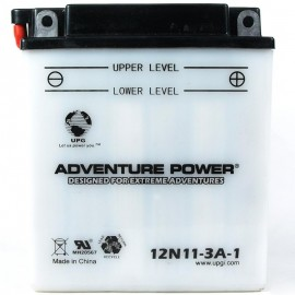 Adventure Power 12N11-3A-1 (12V, 11AH) Motorcycle Battery