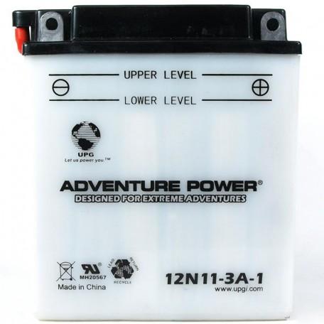 Adventure Power 12N11-3A-1 (12V, 11AH) Motorcycle Battery