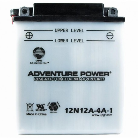 Adventure Power 12N12A-4A-1 (12V, 12AH) Motorcycle Battery