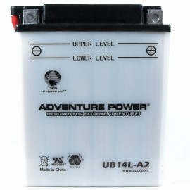 Kawasaki EX500-D Ninja 500R Replacement Battery (1994-2009)