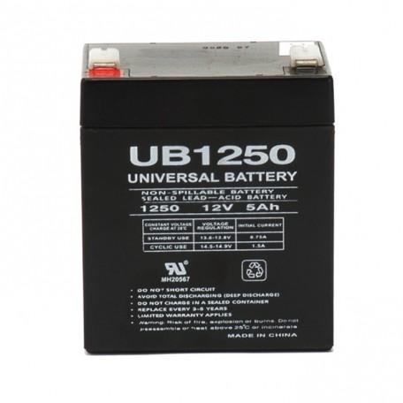 APC Back-UPS ES 500 VA, BE500 (12 Volt, 5 Ah) UPS Battery