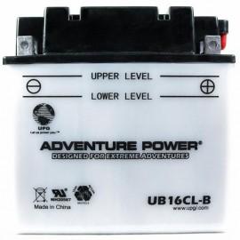 Kawasaki 26012-1384 ATV Replacement Battery