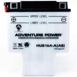 Adventure Power HUB16A-A(AB) (HYB16A-AB) (12V, 16AH) Motorcycle Battery