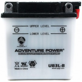Yamaha BTY-YB3LB-00-00 Conventional Motorcycle Replacement Battery