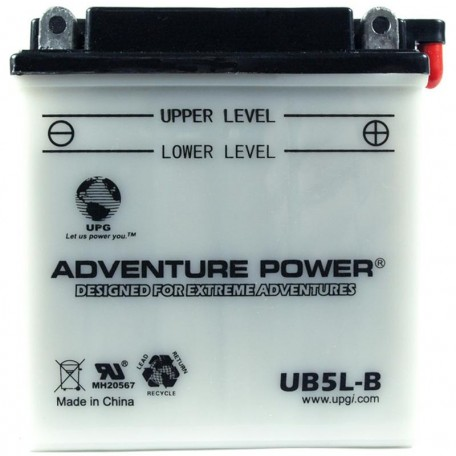 Honda 31500-GB5-681 Motorcycle Replacement Battery