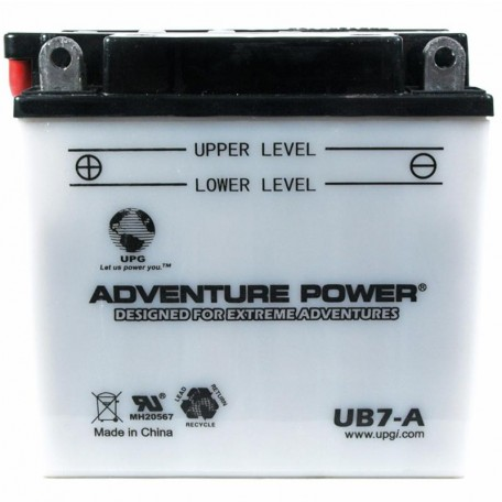 Suzuki GN125, E Replacement Battery (1991-1996)