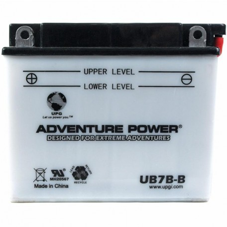 2004 Yamaha TT-R 225, TT-R225SC Conventional Motorcycle Battery