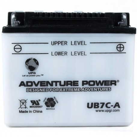 2002 Yamaha TW 200 Trailway TW200PC Conventional Motorcycle Battery