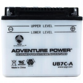 Adventure Power UB7C-A (YB7C-A) (12V, 8AH) Motorcycle Battery