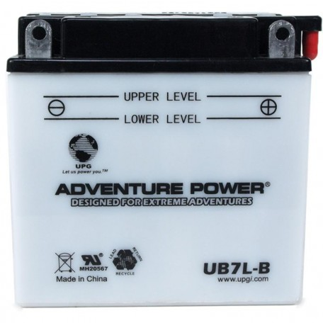 Yamaha YB7-LB000-00-00 Conventional Motorcycle Replacement Battery