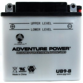 Honda 12N9-4B-1 Motorcycle Replacement Battery