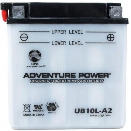 Adventure Power UB10L-A2 (YB10L-A2) (12V, 11AH) Motorcycle Battery