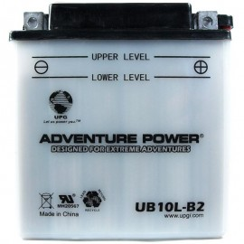 Adventure Power UB10L-B2 (YB10L-B2) (12V, 11AH) Motorcycle Battery
