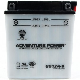 Adventure Power UB12A-B (YB12A-B) (12V, 12AH) Motorcycle Battery
