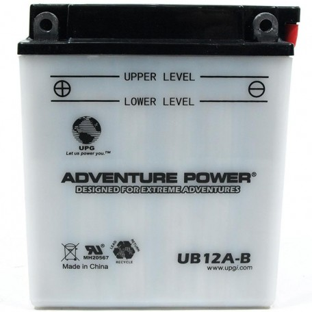 Honda 31500-ML7-672AH Motorcycle Replacement Battery