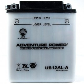 Adventure Power UB12AL-A (YB12AL-A) (12V, 12AH) Motorcycle Battery