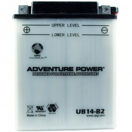2007 Polaris Hawkeye 300 4X4 A07LH27AA Conventional ATV Battery