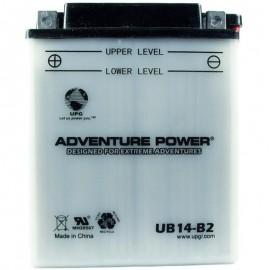 2007 Polaris Hawkeye 300 4X4 A07LH27AD Conventional ATV Battery