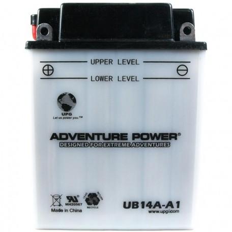 Adventure Power UB14A-A1 (YB14A-A1) (12V, 14AH) Motorcycle Battery