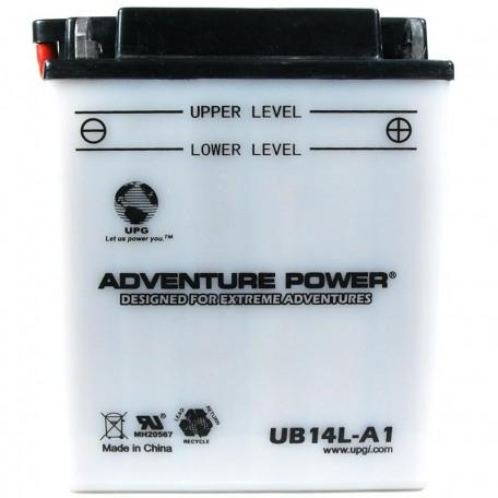 Adventure Power UB14L-A1 (YB14L-A1) (12V, 14AH) Motorcycle Battery