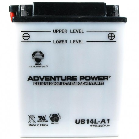 Honda 31500-MJ1-672 Motorcycle Replacement Battery