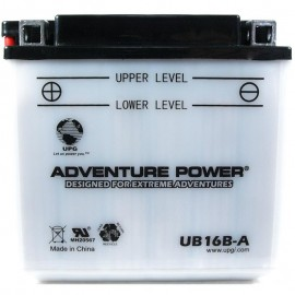Adventure Power UB16B-A (YB16B-A) (12V, 16AH) Motorcycle Battery
