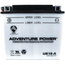 Adventure Power UB18-A (YB18-A) (12V, 18AH) Motorcycle Battery