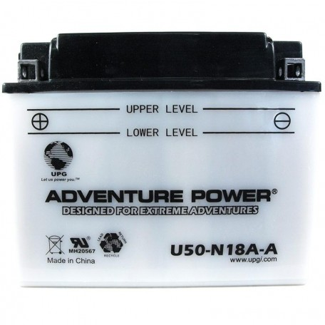 Adventure Power U50-N18A-A (Y50-N18A-A) (12V, 20AH) Motorcycle Battery