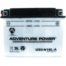 Adventure Power U50-N18L-A (Y50-N18L-A) (12V, 20AH) Motorcycle Battery