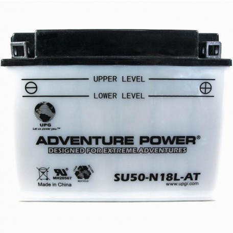 Adventure Power SU50-N18L-AT (SY50-N18L-AT) Motorcycle Battery