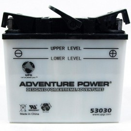 Adventure Power 53030 (12V, 30AH) Motorcycle Battery