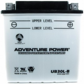Adventure Power UB30L-B (YB30L-B) (12V, 30AH) Motorcycle Battery
