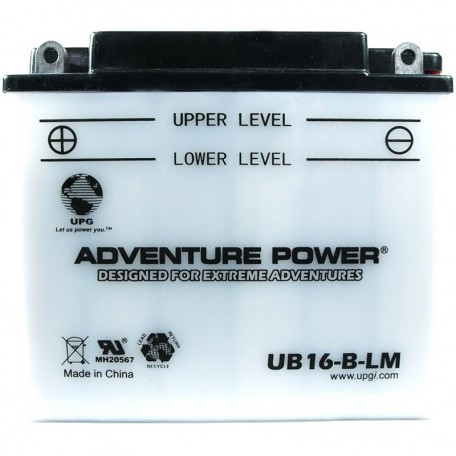 Buell S2, S2T Thunderbolt Replacement Battery (1994-1996)