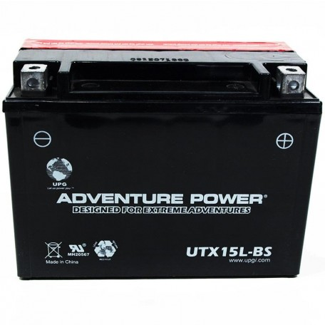 Adventure Power UTX15L-BS (YTX15L-BS) (12V, 13AH) Motorcycle Battery