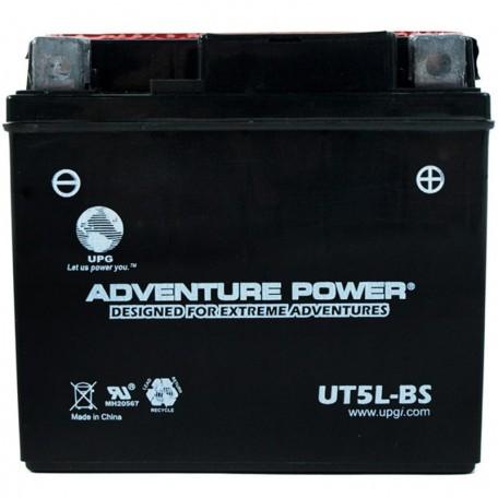 Adventure Power UT5L-BS (YTX5L-BS) (12V, 4AH) Motorcycle Battery
