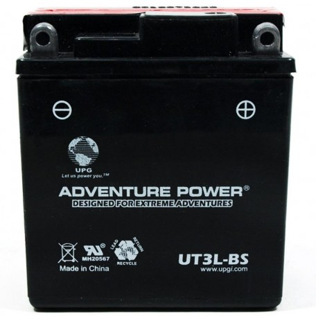Adventure Power UT3L-BS (YB3L-B) (12V, 3AH) Motorcycle Battery
