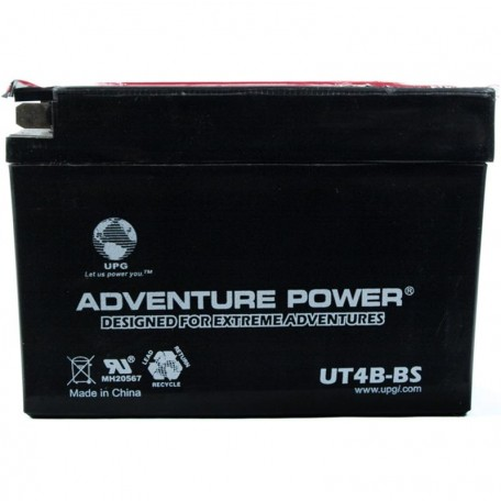 Adventure Power UT4B-BS (YT4B-BS) (12V, 2.3AH) Motorcycle Battery