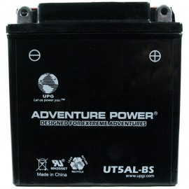 Honda YB5L-B Motorcycle Replacement Battery Dry
