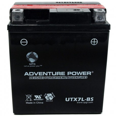 Honda GTX7L-BS Dry AGM Motorcycle Replacement Battery