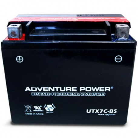 Adventure Power UTX7C-BS (12N6.5-4B or 12N6.5A-4B) Motorcycle Battery