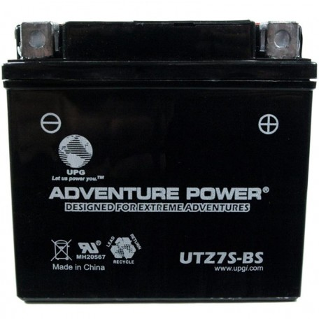 Honda GTZ7S Dry AGM Motorcycle Replacement Battery