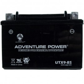 2007 Polaris Outlaw 525 A07GP52AB ATV Battery