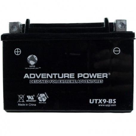 Adventure Power UTX9-BS (YTX9-BS) (12V, 8AH) Motorcycle Battery
