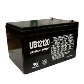 Deltec PowerRite Pro II PRC1000 (12 Volt, 12 Ah) UPS Battery