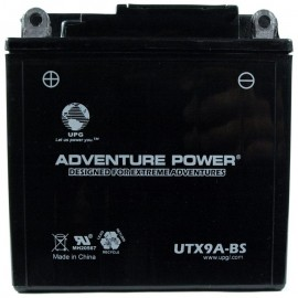 Adventure Power UTX9A-BS (YB9-B) (12V, 9AH) Motorcycle Battery
