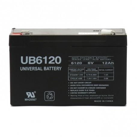 Deltec PowerRite Pro II PRC1000 (6 Volt, 12 Ah) UPS Battery