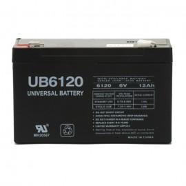 Deltec PowerRite Pro PRA2000 (6 Volt, 12 Ah) UPS Battery