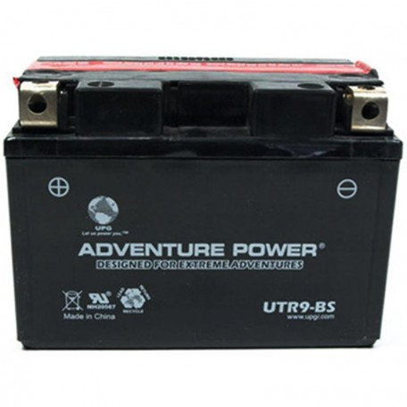 Adventure Power UTR9-BS (YTR9-BS) (12V, 8AH) Motorcycle Battery