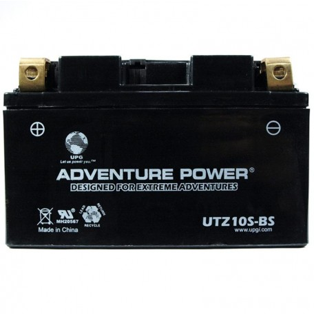 Adventure Power UTZ10S-BS (YTZ10S) (12V, 8.6AH) Motorcycle Battery