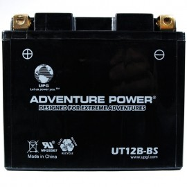 Adventure Power UT12B-BS (YT12B-BS) (12V, 10AH) Motorcycle Battery